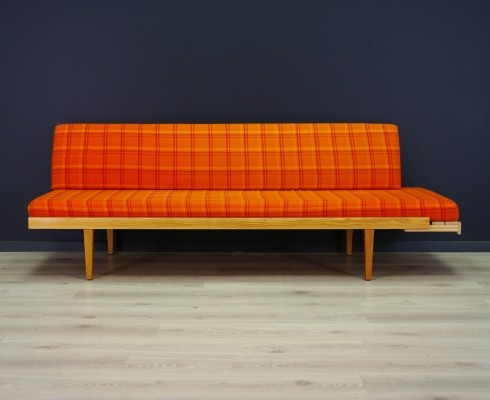 Daybed sofa from the sixties by unknown designer for Horsnæs Møbelfabrik