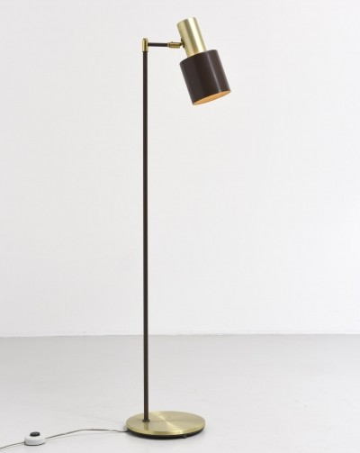 Studio floor lamp from the fifties by Jo Hammerborg for Fog & Mørup
