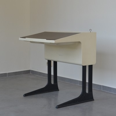 Elmar Flötotto writing desk, 1970s
