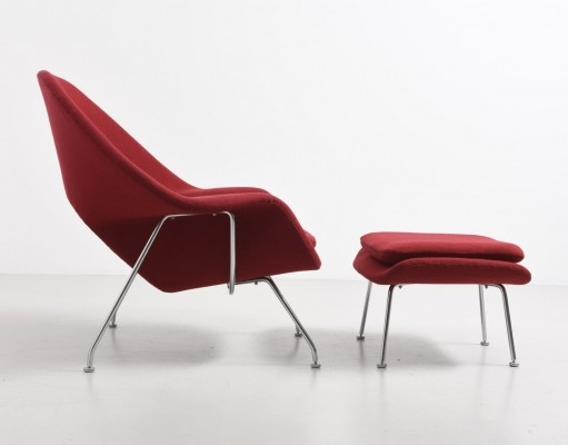 Womb lounge chair from the forties by Eero Saarinen for Knoll