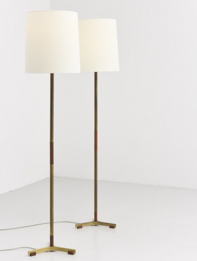 2 Monolit floor lamps from the fifties by unknown designer for Fog & Mørup