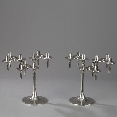 Orion Candle Holder from the sixties by Fritz Nagel for BMF