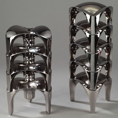 Candle Holder from the seventies by Fritz Nagel for unknown producer