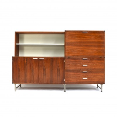 Made to Measure rosewood highboard by Cees Braakman for Pastoe, 1960s