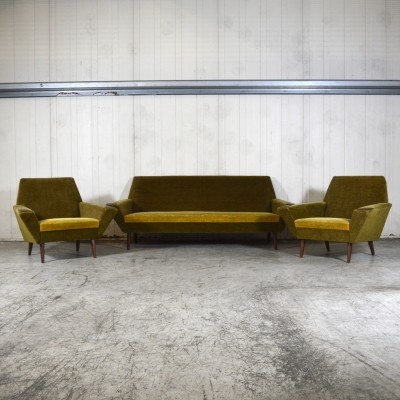 Midcentury seating group, The Netherlands 1960s
