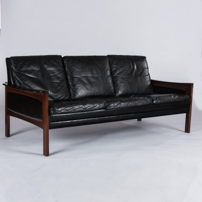 Model 201 sofa from the fifties by unknown designer for Godtfred H Petersen