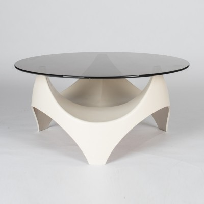 Coffee table from the seventies by unknown designer for Opal