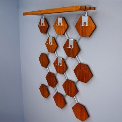 Coat rack from the sixties by unknown designer for unknown producer