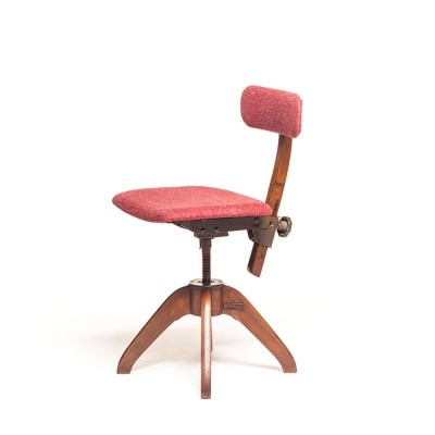 Office chair from the forties by unknown designer for unknown producer