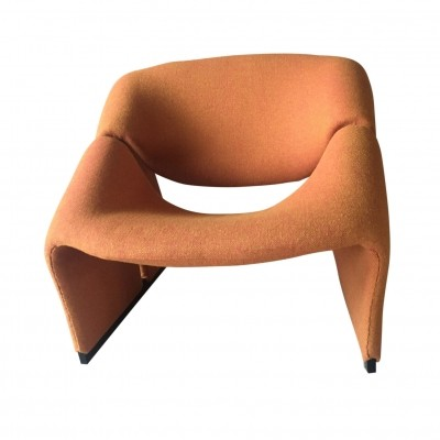 F580 arm chair from the sixties by Pierre Paulin for Artifort