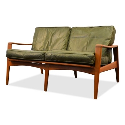 sofa from the sixties by arne wahl iversen for komfort 35692. Black Bedroom Furniture Sets. Home Design Ideas