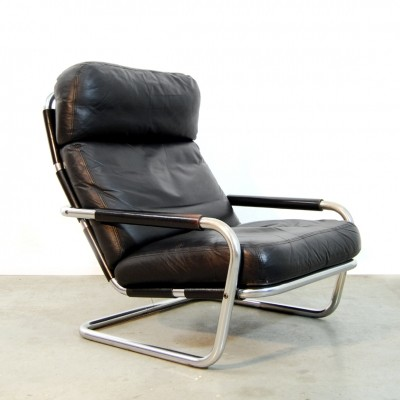 Oberman lounge chair from the seventies by Jan des Bouvrie for Gelderland
