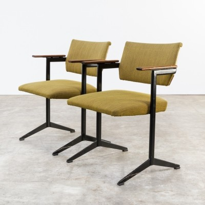 Set of 2 Ariadne series arm chairs from the sixties by Friso Kramer for Auping