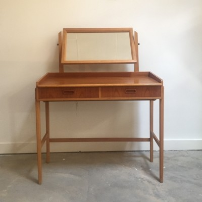 Dressing table side table from the sixties by unknown designer for unknown producer