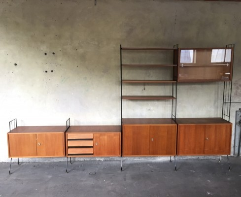 wall unit from the sixties by unknown designer for unknown producer - Designer Wall Unit
