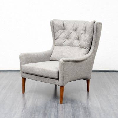 Arm chair from the fifties by unknown designer for Carl Straub