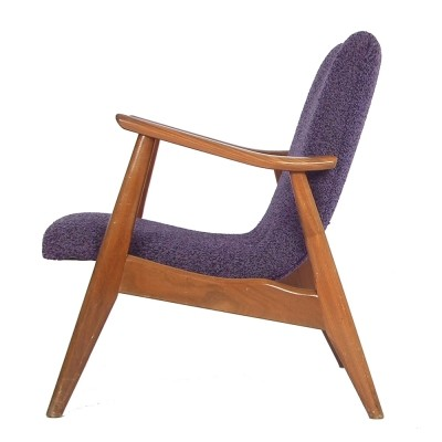 2 lounge chairs from the fifties by Louis van Teeffelen for Wébé