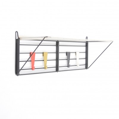 Servo Muto No. 2 coat rack from the fifties by Tjerk Reijenga for Pilastro