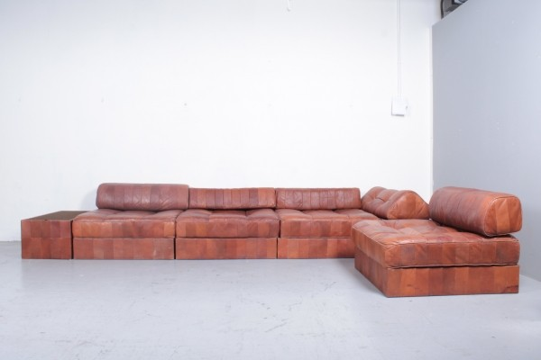 DS88 seating group from the sixties by unknown designer for De Sede