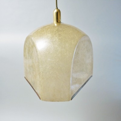 Tricia hanging lamp from the sixties by Salvatore Gregorietti for Lamperti