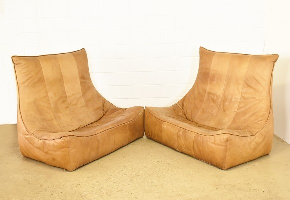 Set of 2 The Rock sofas from the sixties by Gerard van den Berg for Montis