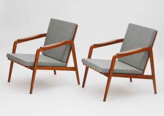 set of 2 arm chairs from the sixties by unknown designer for unknown producer - Arm Chairs