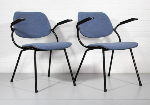 Pair of Marko Holland arm chairs, 1960s