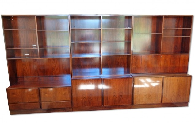 Model 6-9 wall unit from the sixties by Gunni Omann for Omann Jun