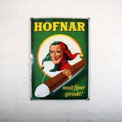 Hofnar Advertisement from the fifties by unknown designer for unknown producer