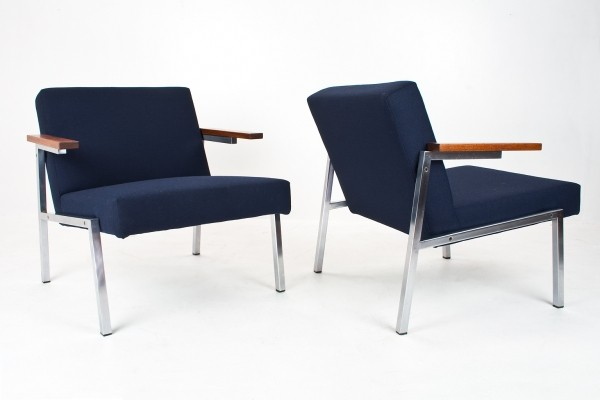 2 SZ66 lounge chairs from the sixties by Martin Visser for Spectrum