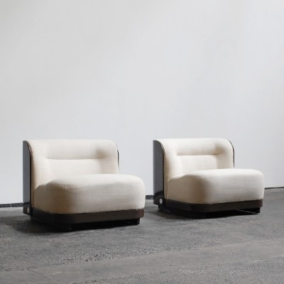 Pair of Trinom lounge chairs by Peter Maly for COR Sitzcomfort, 1960s