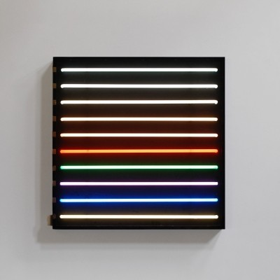 Neon wall lamp from the sixties by unknown designer for unknown producer