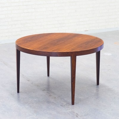 Coffee table by Severin Hansen for Haslev Møbelsnedskeri, 1950s