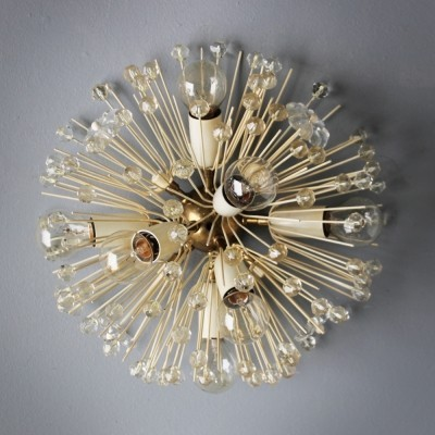 Stejnar Flush Mount 'Dandelion' Chandelier for Rupert Nikoll