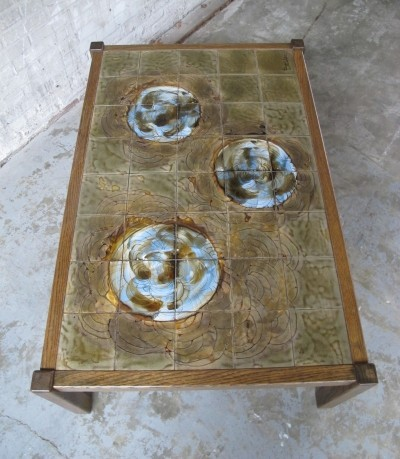 Coffee table from the seventies by J. Belarti for Belarti