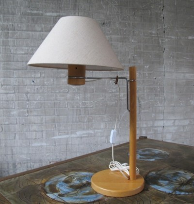20 B desk lamp from the seventies by unknown designer for A B Solbackens