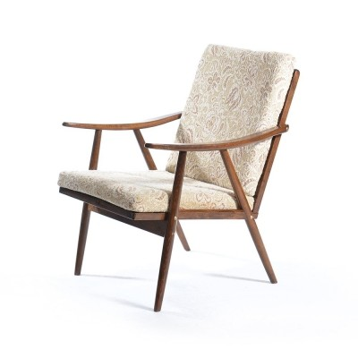 2 arm chairs from the sixties by unknown designer for Ton Czechoslovakia