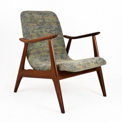 Lounge chair by Louis van Teeffelen for Wébé, 1950s