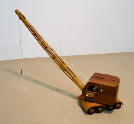 Wooden Crane children furniture from the sixties by unknown designer for D Z D