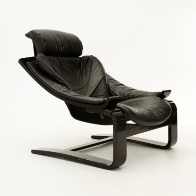 Kroken arm chair from the seventies by Ake Fribyter for Nelo Mobel