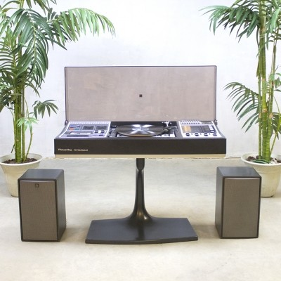 Record player Dual 1222 stereo from the sixties by unknown designer for Rosita