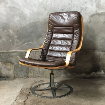 Lounge chair from the seventies by unknown designer for G Mobel