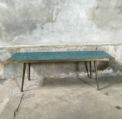 Mosaic coffee table from the fifties by unknown designer for unknown producer