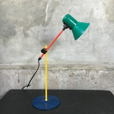 2/9 desk lamp from the eighties by unknown designer for Veneta Lumi