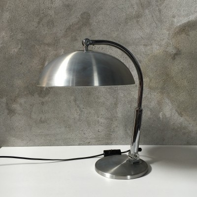 Model 144 desk lamp from the seventies by H. Busquet for Hala Zeist