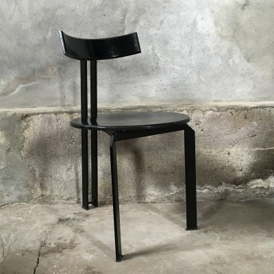 Zeta dinner chair from the eighties by unknown designer for Harvink