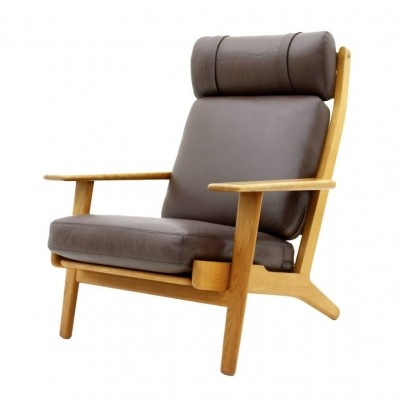 Ge 290 lounge chair from the sixties by Hans Wegner for Getama