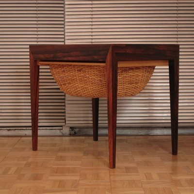 Severin Hansen Brazilian Rosewood Sewing Table