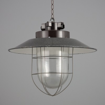 6 hanging lamps from the fifties by unknown designer for unknown producer