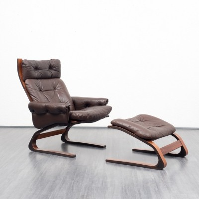 Arm chair from the sixties by Elsa Solheim & Nordahl Solheim for unknown producer